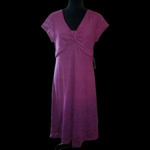 Athleta Bolinas Burnout Dress Size L T NWT